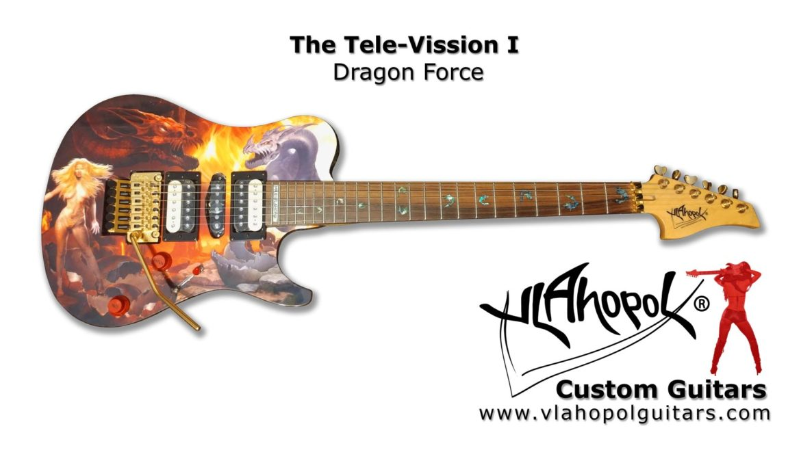Vlahopol Guitars - TL Visions I - Dragon Force